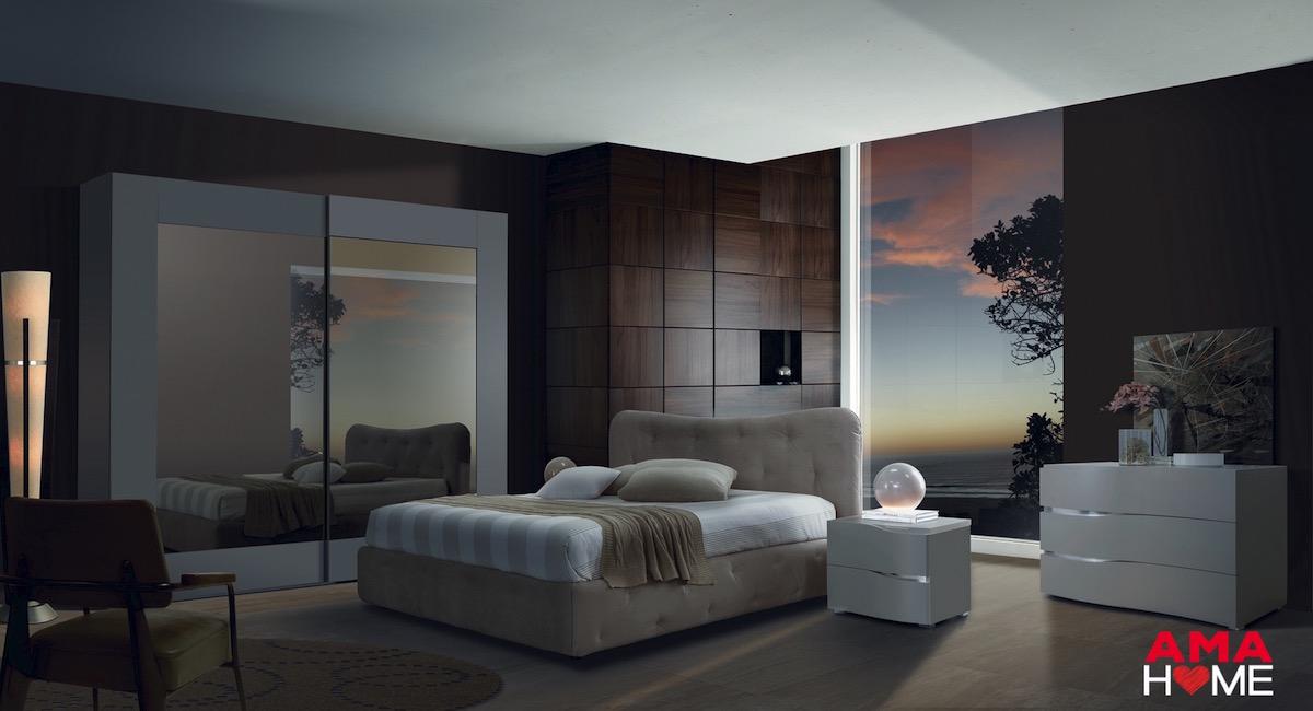 camera letto moderna modello door amahome